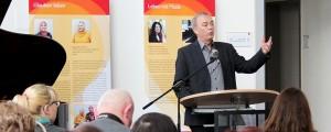 Bürgermeister Werner Kolter, Unna, bei der Eröffnung